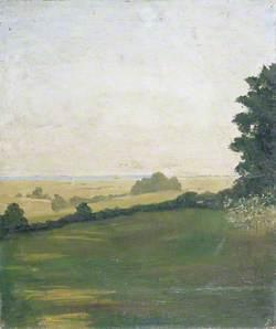Landscape near Lympne, Kent