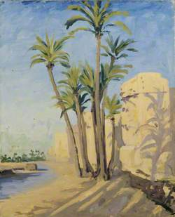 A Group of Palms at Marrakech
