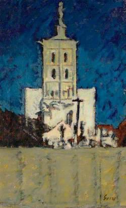 The Church at Envermeu at Night