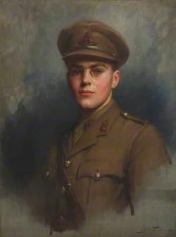 Sir Felix (John Morgan) Brunner (1897–1982), 3rd Bt, as an Artillery Officer