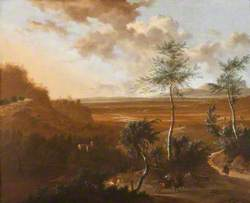 An Extensive Southern Landscape with an Ambush