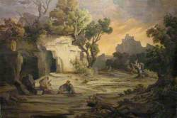 Landscape with Aeneas and the Cumaean Sibyl