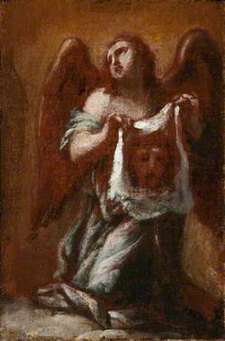 An Angel Holding Veronica's Veil