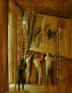 The Hanging of the 'Judgement of Solomon' at Kingston Lacy