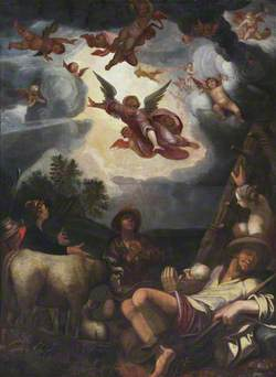 The Angels Appearing to the Shepherds