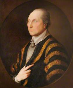 Portrait of an Unknown Gentleman in an Academic Gown