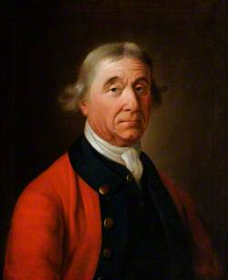 Portrait of an Unknown Gentleman in a Red Coat