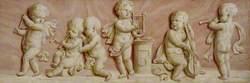 Putti with Symbols of Music