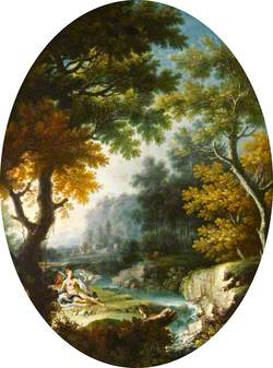 Landscape with Leda and the Swan