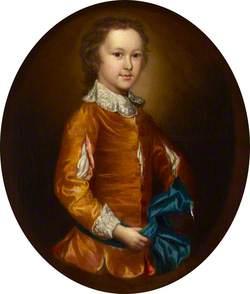 Christopher Wilkinson as a Boy, in Van Dyck Dress