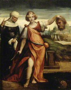 Judith with the Head of Holofernes and Her Maidservant