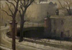 Regent's Canal at Maida Avenue, Winter