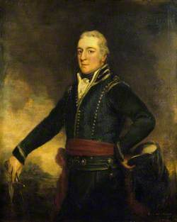 George O'Brien Wyndham (1751–1837), 3rd Earl of Egremont, in the Uniform of the Sussex Yeomanry