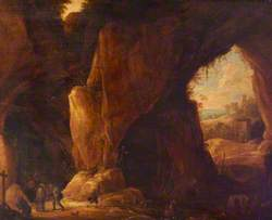 A Shrine in a Grotto