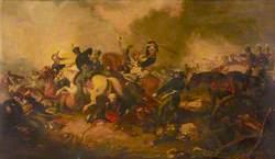Marshal Blücher at the Battle of Ligny: 16 June 1815