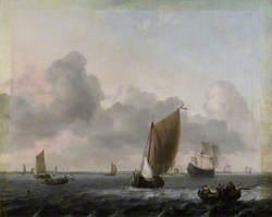 Marine, Choppy Sea