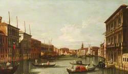 The Grand Canal with the Rialto and the Palazzo Vendramin-Calergi, Venice