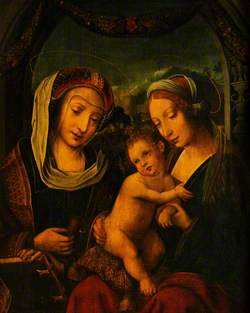 The Virgin and Child with Saint Mary Magdalene
