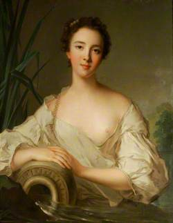 Louise-Henriette de Bourbon-Conti (1726–1759), as a River Goddess