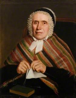 Portrait of a Woman in a Shawl*