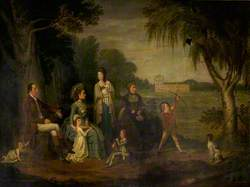 John Francis, 7th Earl of Mar, and Family