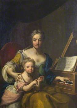 Frances, Wife of John, 6th Earl of Mar, Daughter of Evelyn, 1st Duke of Kingston