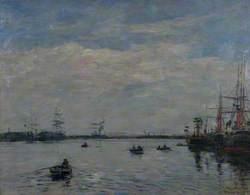 Le Bassin du port du Havre