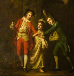 James Sinclair-Erskine (1762–1837), Later 2nd Earl of Rosslyn, His Brother John and His Sister Henrietta Maria