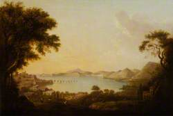 Bay of Pozzuoli with the Temple of Serapis