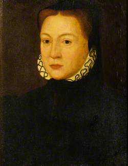 Portrait of a Woman in a White Ruff