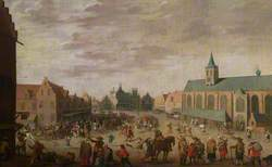 The Market Place at Amersfoort