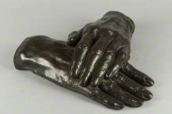 Crossed Hands of Thomas Carlyle