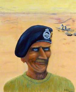Caricature of Field Marshal Bernard Law Montgomery (1887–1976), 1st Viscount Montgomery of Alamein, GCB, DSO
