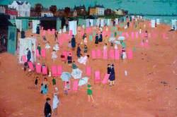 Seaton Carew Beach, Hartlepool, Tees Valley