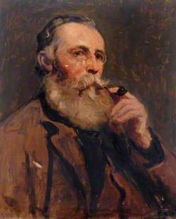 Portrait of a Man with a Pipe*