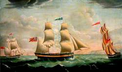 The 'Middlesbrough' in Full Sail