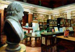 View of the Interior of the Library