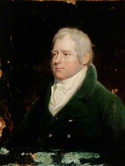 Portrait of a Gentleman in a Blue Coat