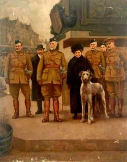 Military Parade at the War Memorial