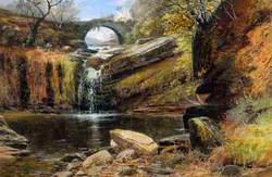 Lumb Hole Waterfall