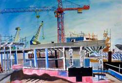 The Construction of Prospect Building No. 1, University of Sunderland, Tyne and Wear