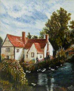 Willy Lott's Cottage in the Constable County of Suffolk