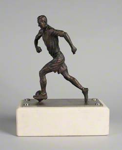 Maquette for 'Jackie Milburn'