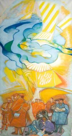 Study for 'Pentecost'