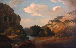 River Scene of the Wye