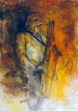 Gerry Mulligan, Saxophonist, Brecon Jazz Festival