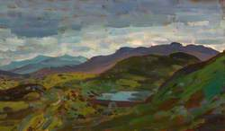 Welsh Mountains: Merioneth; A View from Tanygrisiau