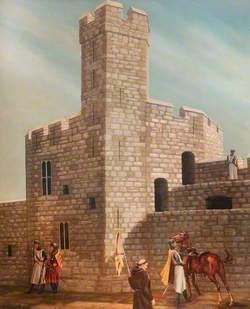 Caernarfon Castle, Medieval