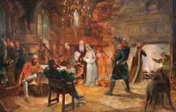 Myfanwy Interior (Medieval Scene)