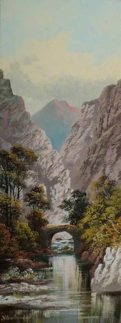 Gorge with a Bridge